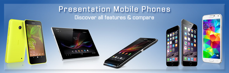 Presentation of Mobile Phones 733x266